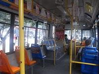 龍門石窟行きバス