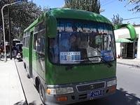 莫高窟行きバス