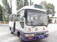鳴沙山行きバス