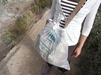 ゴミ袋装着