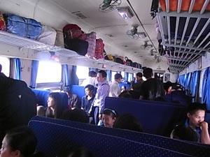 成都行き列車