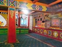 チベット料理屋のお店の中
