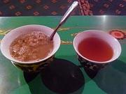 バター茶と果実酒