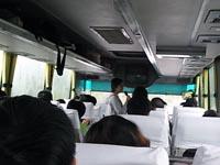 黄龍行きバス