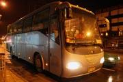 上西順城街站バス到着