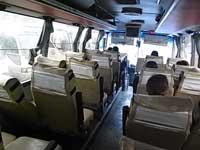 重慶行きバス