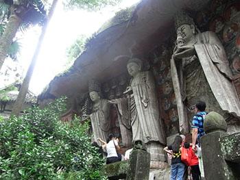 華厳三聖像