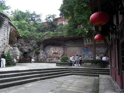 宝頂山釈迦涅槃像