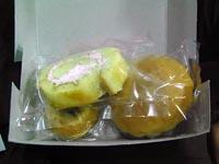 チェンマイ行きバス菓子パン