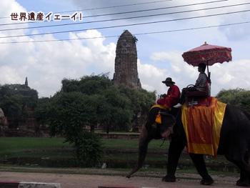 象とワット・プラ・ラーム