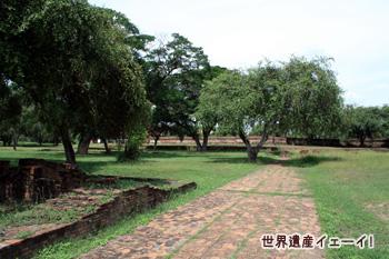 アユタヤ王宮跡