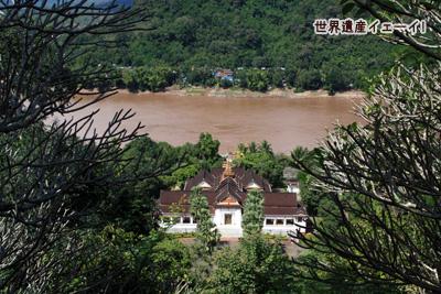 メコン川と国立博物館