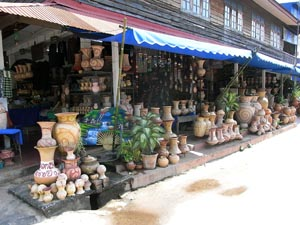 バン・チアン土産屋