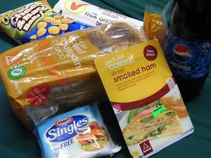 サンドイッチ材料