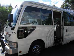 リゾートシャトルバス