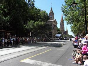 オーストラリア建国記念日 国旗掲揚