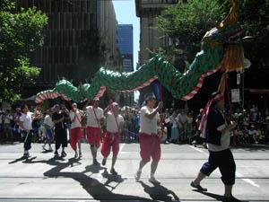 オーストラリア建国記念日 パレード