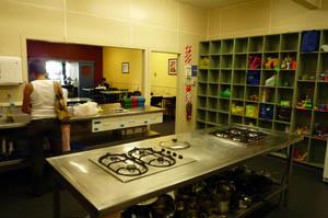 YHA キッチン