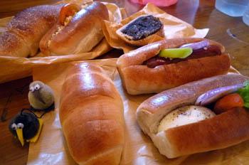 キャンディのパン