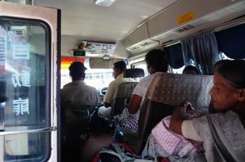 日本製のバス