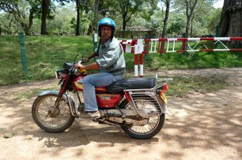 韓国おじちゃんバイク