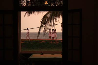 Ocean View Guest House 屋上