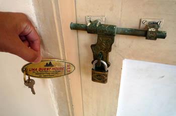UMA GUEST HOUSE 鍵