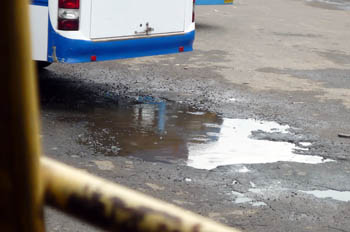 カニャークマリ~クイロン雨