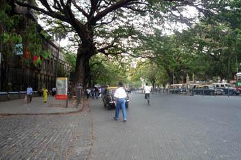 ムンバイ町並み