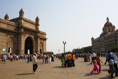 インド門タージマハルホテル