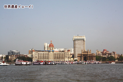 タージマハルホテル&インド門