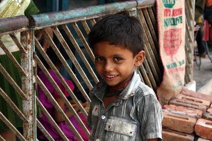 インド少年