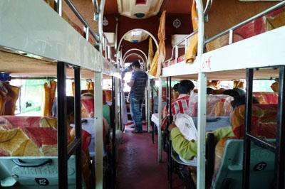 ビムベトカ行きバス