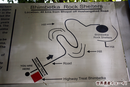 ビムベトカ地図