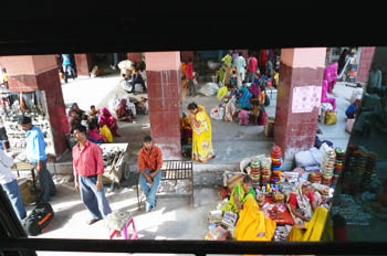 Chatarpur バスターミナル