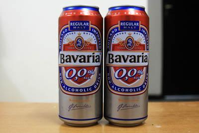ノンアルコールビール(BAVARIA)