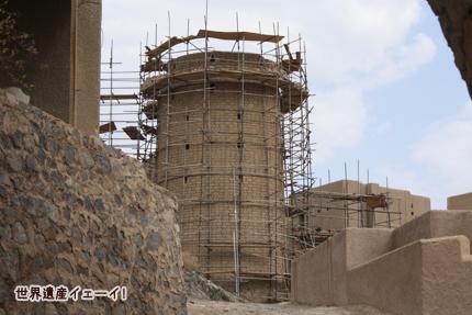 バハラ城塞の中