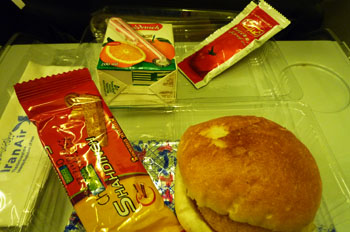 イラン航空機内食