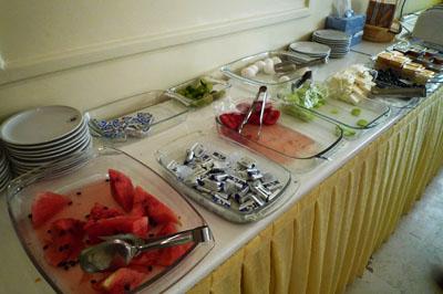 ホテル・コウサル朝食