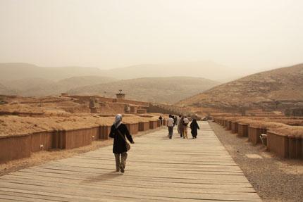 儀杖兵の通路