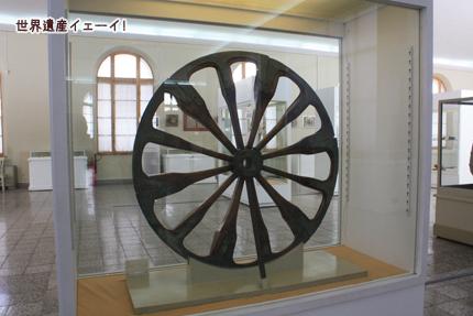 イラン考古学博物館(青銅の車輪)