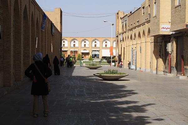 イマーム広場入口