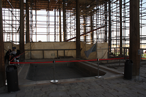 アーリー・ガープー宮殿バルコニー