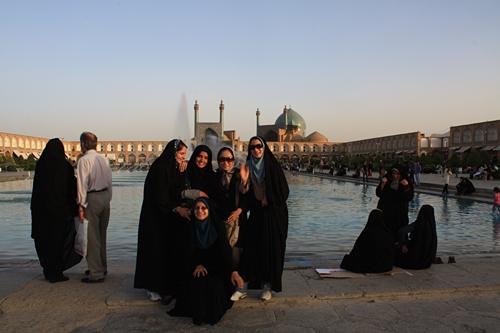 イランの女性&1号