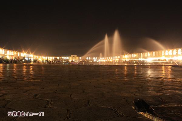 イマーム広場夜景