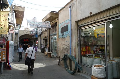 バーザール 入口