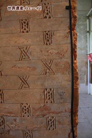 オルジェイトゥ廟2階装飾