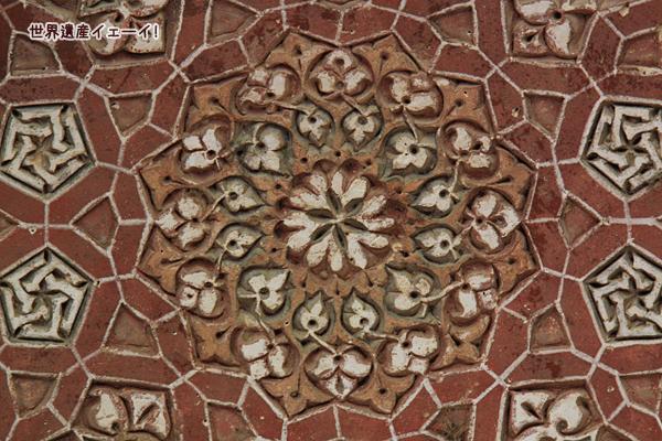 オルジェイトゥ廟3階天井