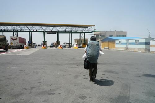 ザンジャーン高速入口