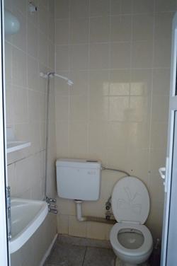 ギュネシ・ホテルのトイレ